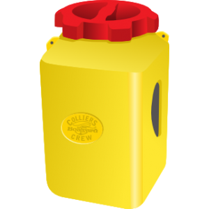 Jetski Safety Bottle Cannister Yellow